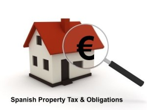 Spanish property tax